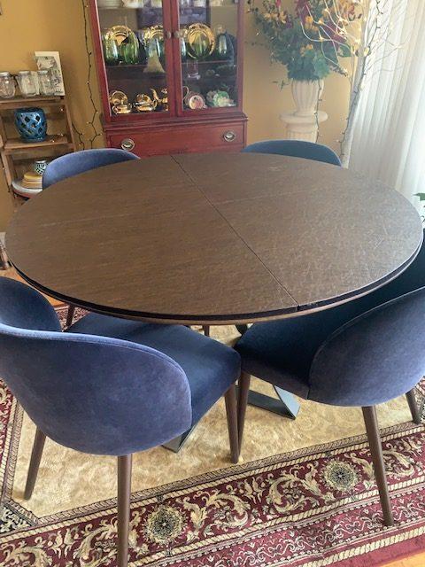 Circle Table Pad Brown